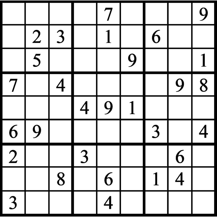 Janric Classic Sudoku for Aug 14, 2020