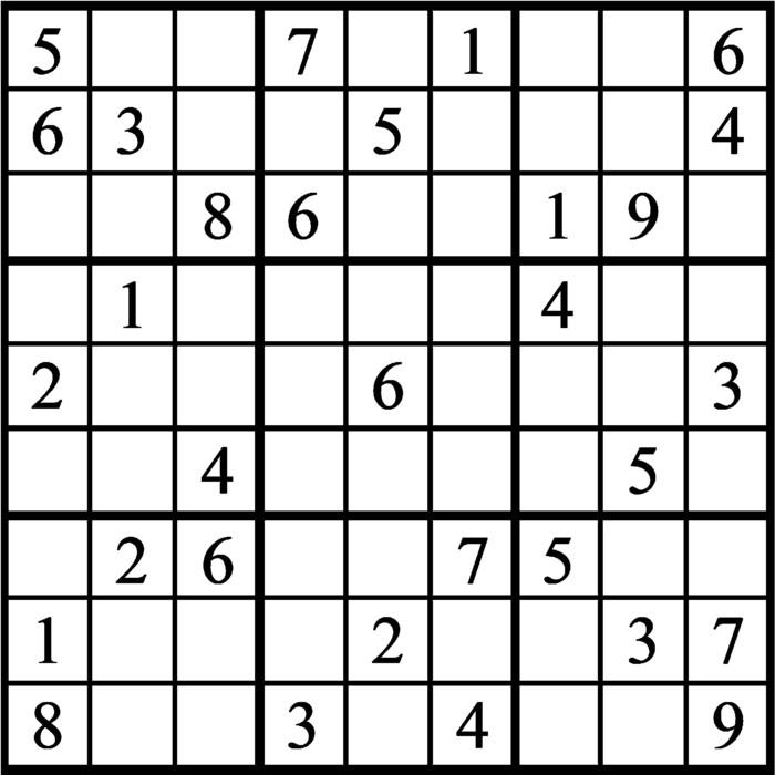 Janric Classic Sudoku for Sep 25, 2020