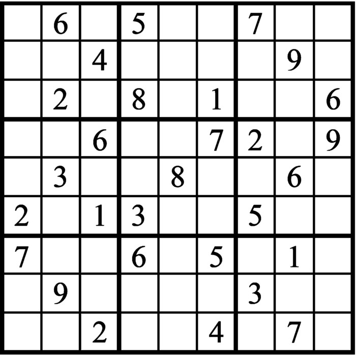 Janric Classic Sudoku for Oct 17, 2020