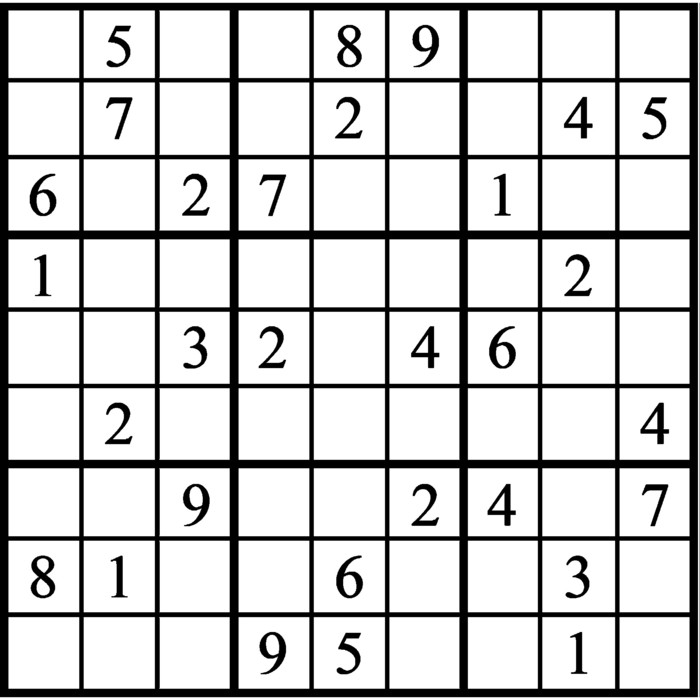 Janric Classic Sudoku for Oct 23, 2020