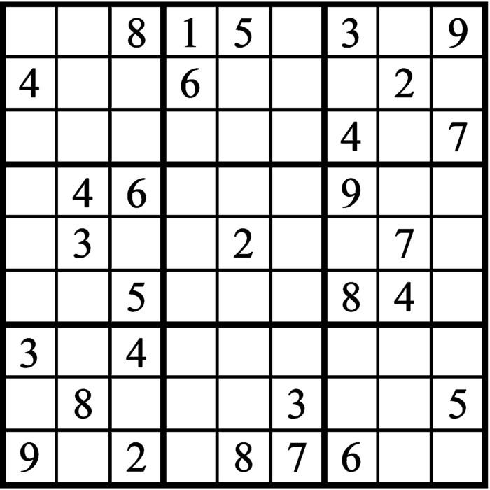 Janric Classic Sudoku for Nov 21, 2020