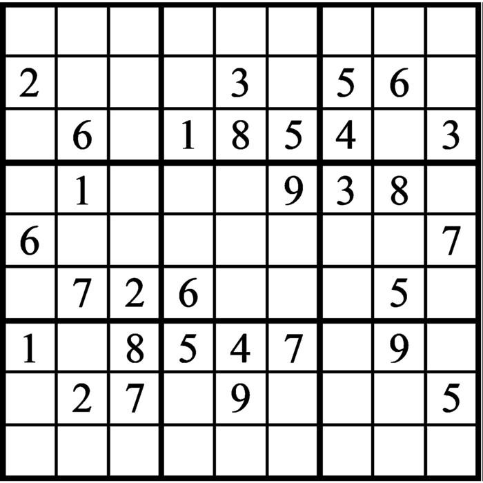 Janric Classic Sudoku for Feb 23, 2021