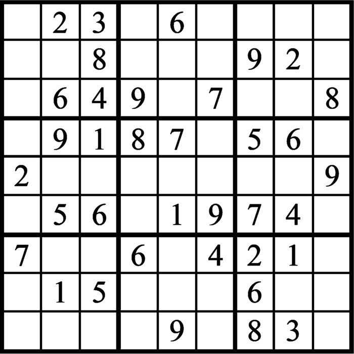 Janric Classic Sudoku for May 13, 2021