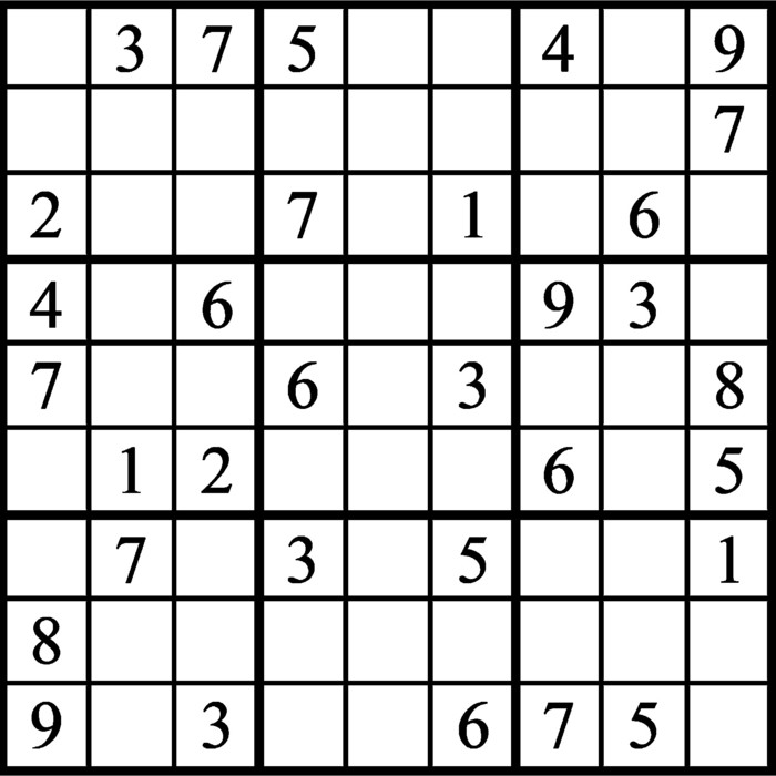 Janric Classic Sudoku for May 14, 2021