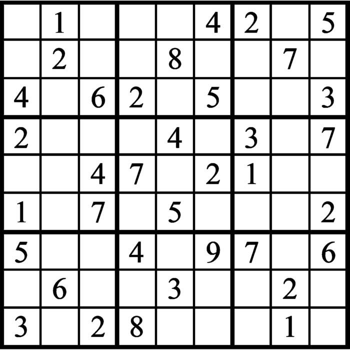 Janric Classic Sudoku for Jun 17, 2021