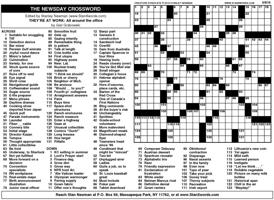 Lucrative image throughout washington post crossword printable
