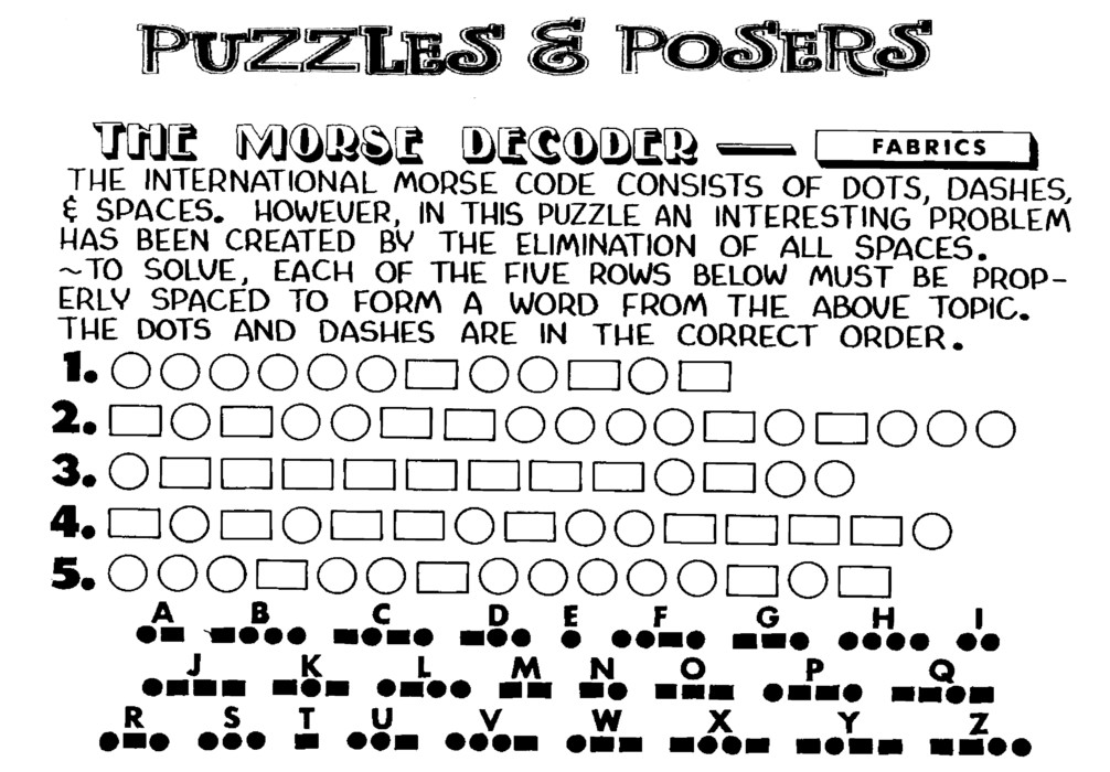 Puzzles and Posers for Feb 16, 2020
