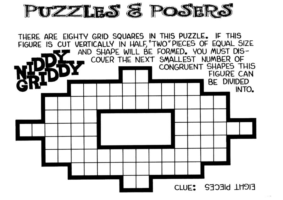 Puzzles and Posers for May 02, 2021