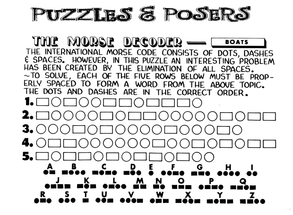 Puzzles and Posers for May 09, 2021