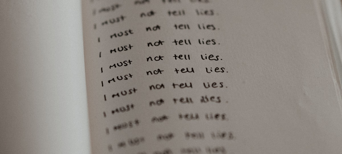 A Society Infected with Lies