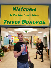 Trevor Donovan to partner with Hallmark to launch nationwide anti-bullying program he inspired.
