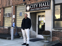 In January 2020, Chris Frye was sworn in as the first Black, Republican and youngest mayor to ever hold the seat of this predominantly white, predominantly Democratic city. Photo by Salena Zito.