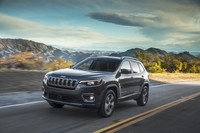 View the Jeep Cherokee this week.