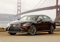 View the Lexus LS500 this week.