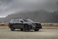 View the Subaru Outback this week.