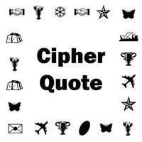 Cipher Quote for Jan 02, 2015