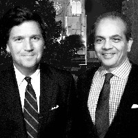 Tucker Carlson and Neil Patel